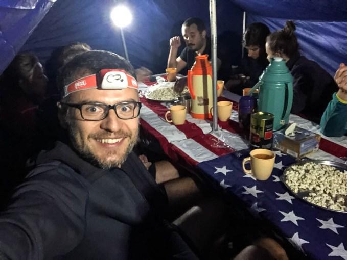 Trekking Kilimandzaro mesa