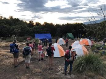 Trekking Kilimandzaro oboz Machame