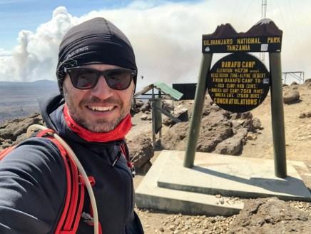 Trekking Kilimandzaro powrot do barafu camp