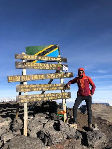 Trekking Kilimandzaro szczyt uhuru
