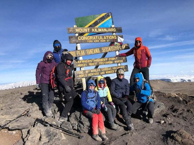 Trekking Kilimandzaro uhuru peak
