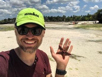 Zanzibar rejs powrot rozgwiazda