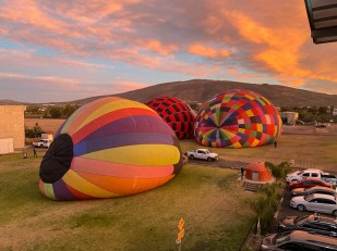 Balony Teotihuacan 1
