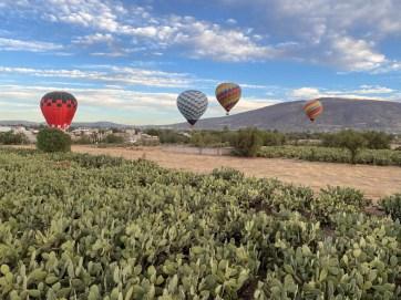 Balony Teotihuacan 4
