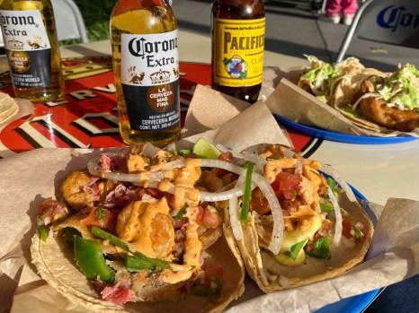 Mexico City tacosy el pescadito