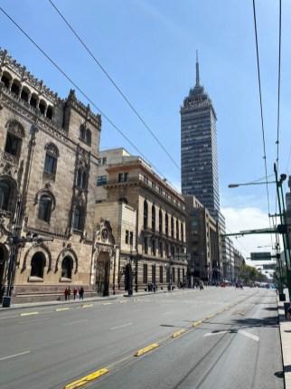 Mexico City wieża Torre Latinoamerica