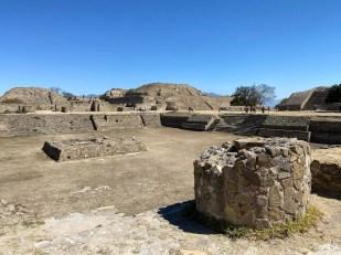 Monte Alban ruiny