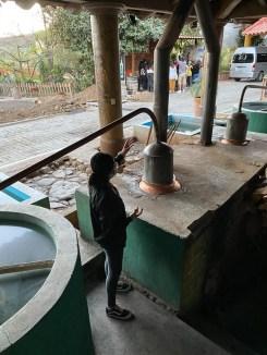 Oaxaca destylowanie mezcal