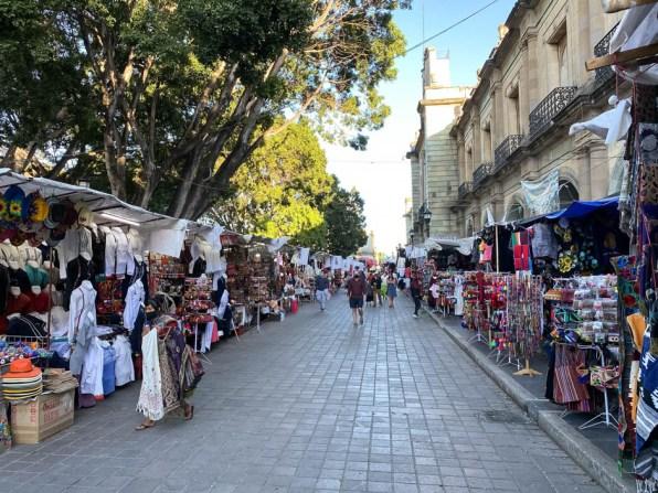 Oaxaca stragany na Zocalo