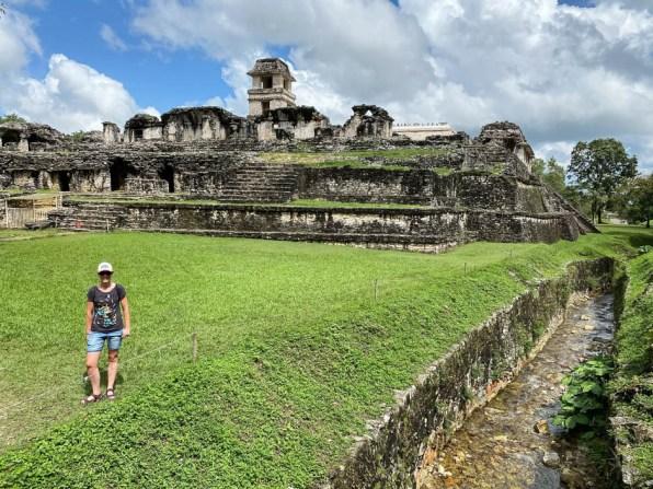 Palenque ruiny pałac 2