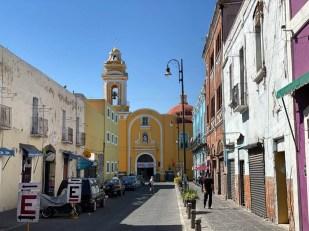 Puabla Meksyk centrum kościoły