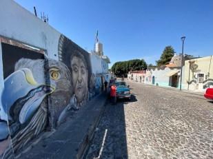 Puabla Meksyk murale