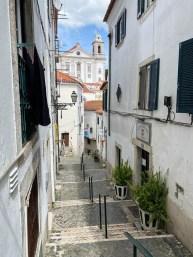 Potugalia Lizbona dzielnica Alfama