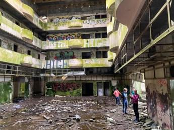 Ruiny hotelu Monte Palace