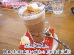 Mexi-Choc... Hot chocolate with a hint of chilli!