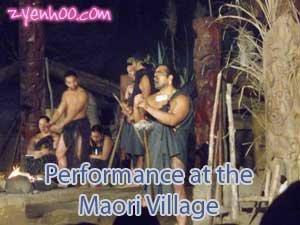 Performance at the Maori Village
