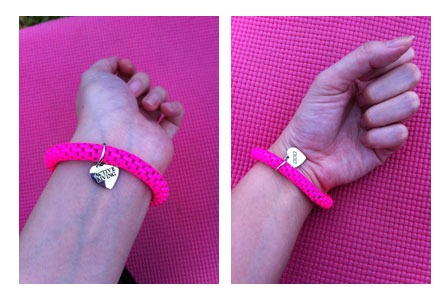The MNB bracelet we received. Does this look like it's worth RM50? :)