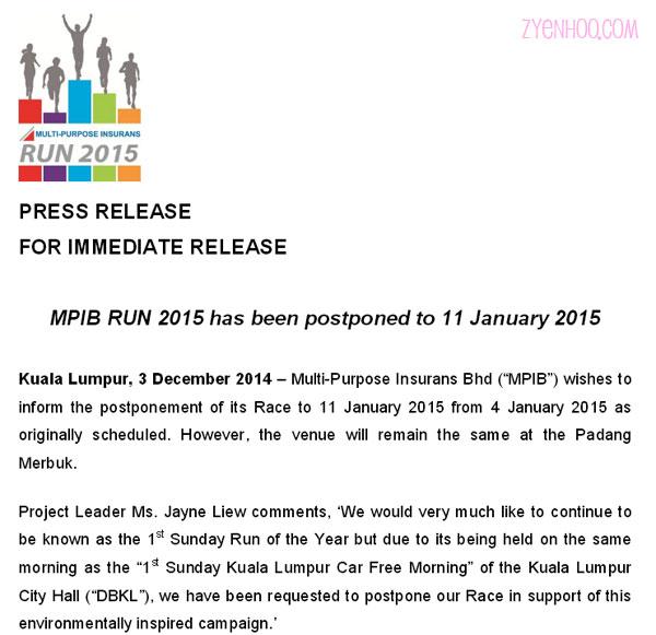 Postponement announcement taken from their website
