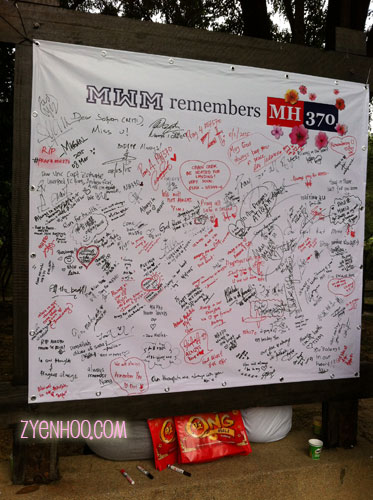 Today is the one year anniversary of the missing MH370 plane