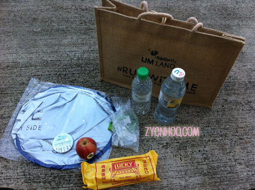 What's in the goodie bag?