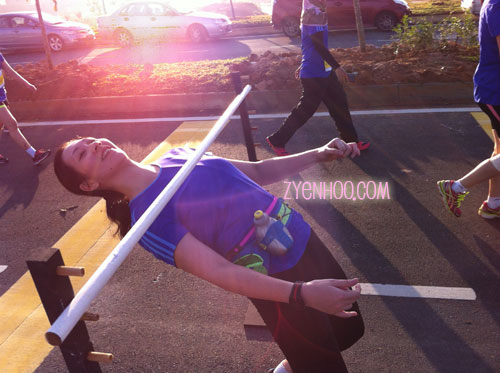 I don't know how many people did the Limbo, but I won't be surprised if I was the only one!