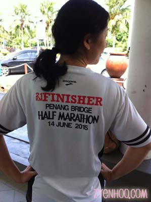 Me in my finisher tee!