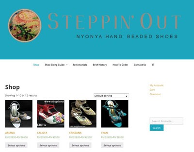 Nyonya Beaded Shoes by Steppin' Out