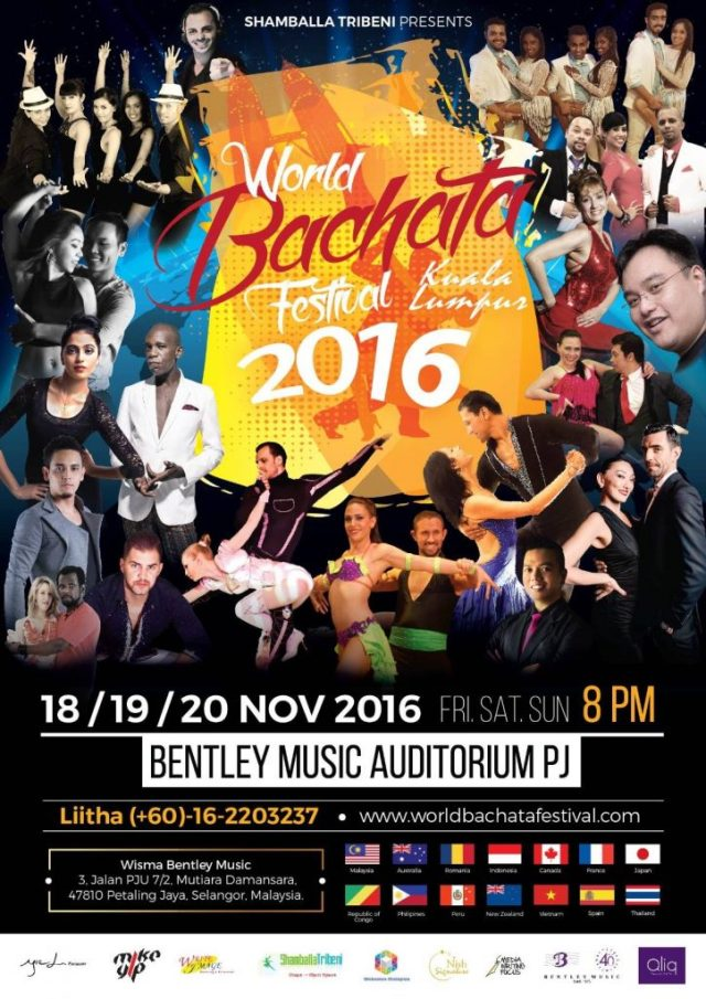 The World Bachata Festival 2016 is back! I can't wait!