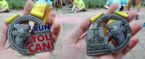 The cutest medal ever!!!