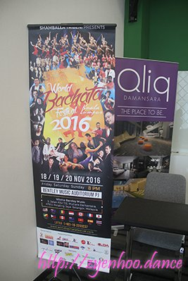 Qliq Damansara is one of the sponsors of the World Bachata Festival 2016