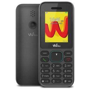 TELEFONO MOVIL WIKO LUBI 5 NEGRO 1,8″