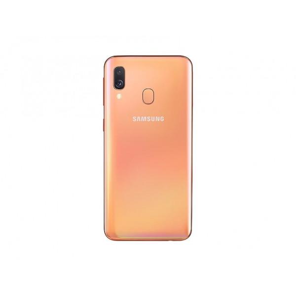 "TELEFONO MOVIL SAMSUNG GALAXY A40 CORAL 5.9"""
