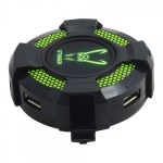 HUB 4 PUERTOS WOXTER STINGER USB 2.0 LED 5 COLOR