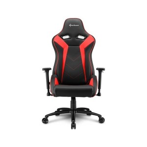 SILLA GAMER SHARKOON ELBRUS 3 NEGRO ROJO