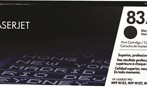 TONER HP 83A CF283A LJ M125NW,M127SS 1.5K NEGRO