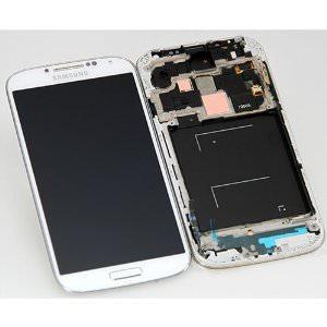 REPUESTO SAM.GALAXY S4 I9506 LCD+TOUCH+FRAME BLANC