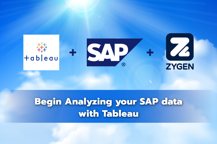 Begin Analyzing your SAP data with Tableau