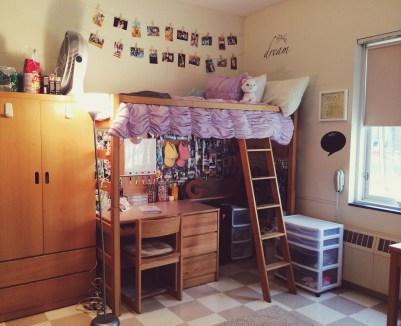 Efficient Dorm Room Organization Decor Ideas 24