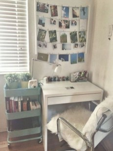 Efficient Dorm Room Organization Decor Ideas 36