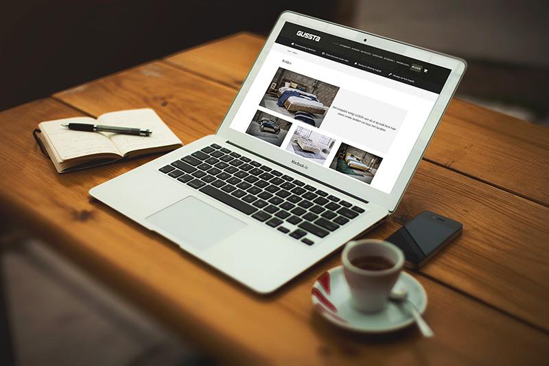 Bedden webshop ontwikkeld door Zymion