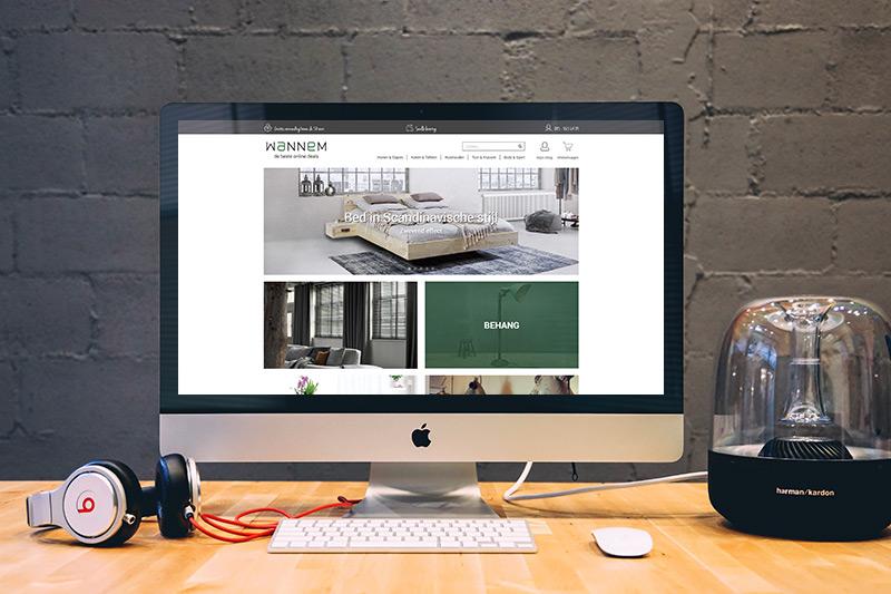 Magento bedden webwinkel