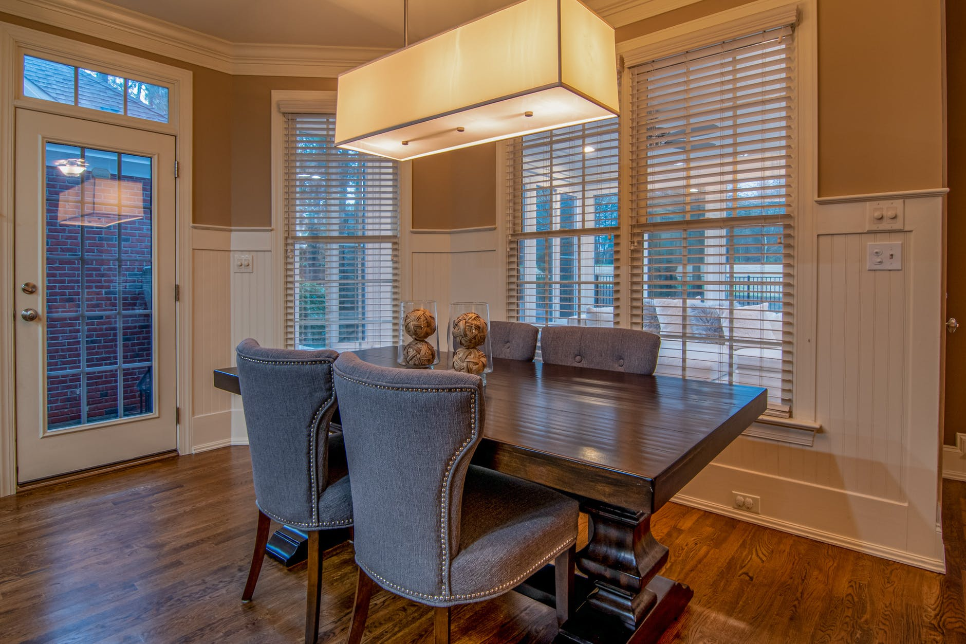 photo of dining table and chairs