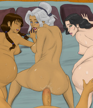 Korra And Their Friends Fuck Together