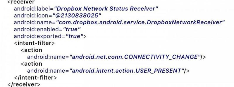 Dropbox Network Receiver