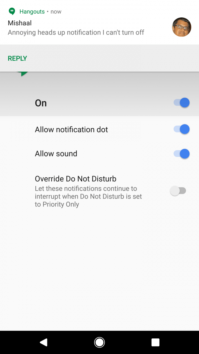 Bring Back Notification Importance Controls for ALL Apps in