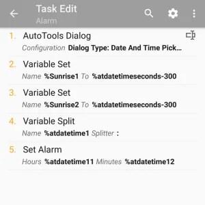 Tasker and Yeelight