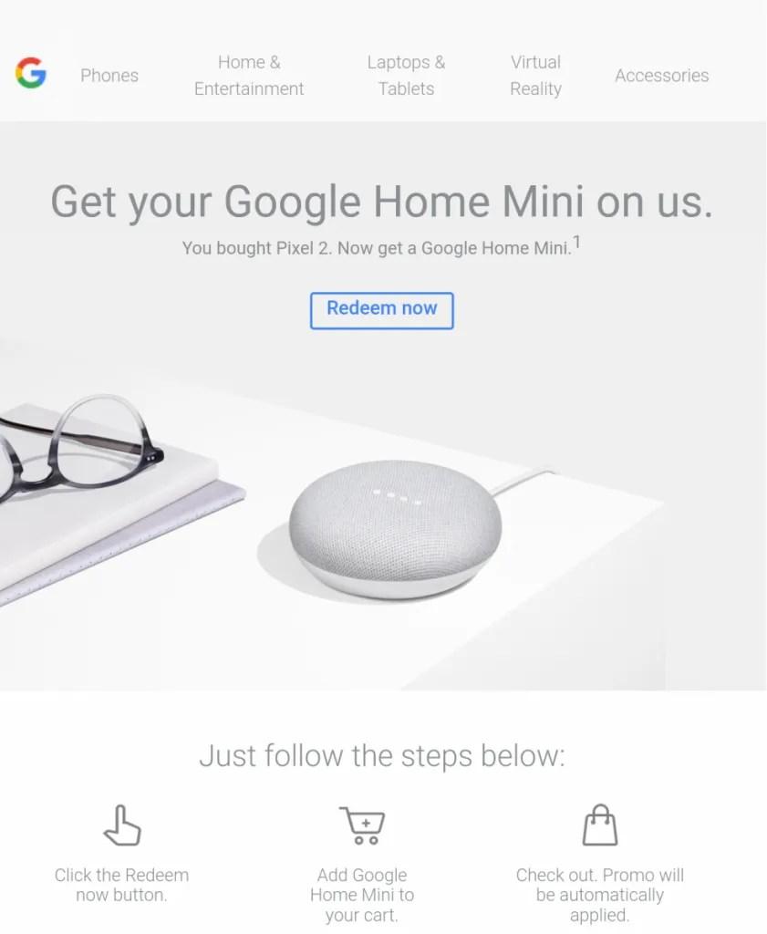 Google Home Mini Pre-order Promo Code