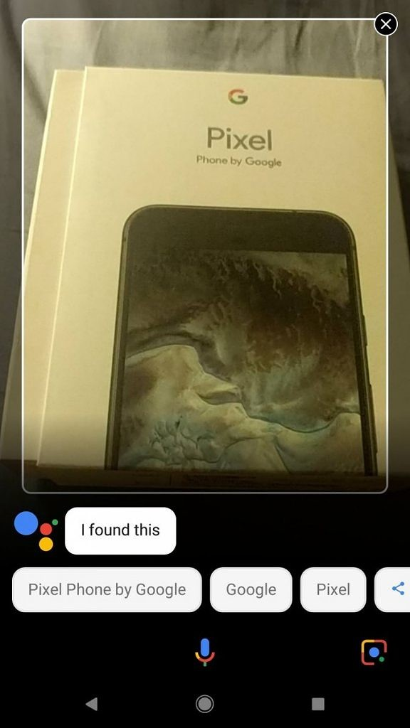 Google Lens in Google Assistant