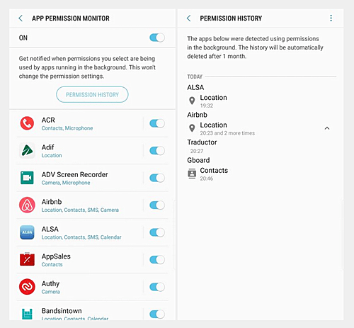 Android Oreo Beta for the Samsung Galaxy S8 Adds App