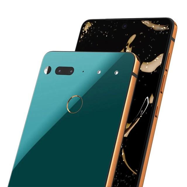 Essential Phone Ocean Depths